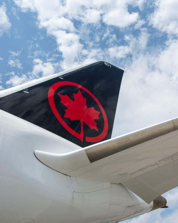 AIR CANADA is re-establishing a flight between Toronto and T.F. Green Airport starting in May 2018. / COURTESY AIR CANADA