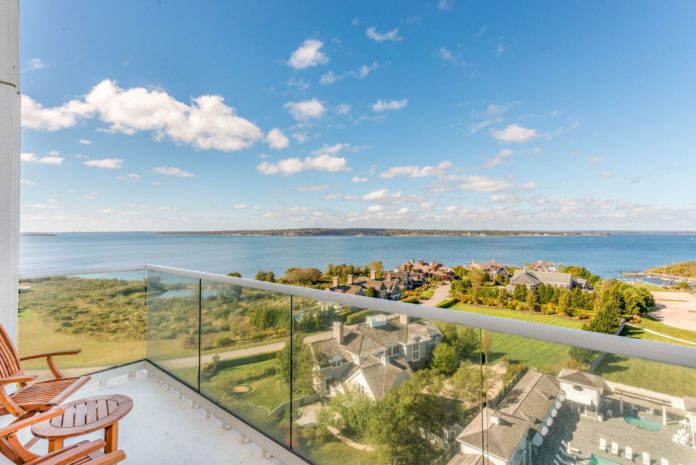 Sixty-four units are available for sale at The Carnegie Tower in Portsmouth. This is one of the views./COURTESY COMPASS DEVELOPMENT.