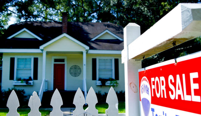 THE HOME PRICE INDEX in the Providence metropolitan area increased 6.8 percent year over year. / BLOOMBERG FILE PHOTO/DERICK E. HINGLE