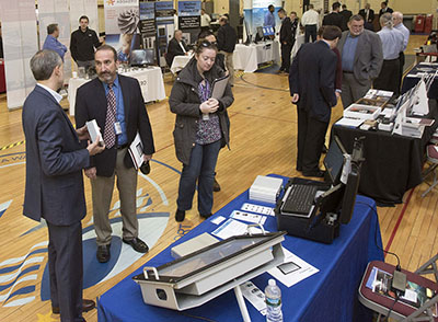 THE NAVAL UNDERSEA Warfare Center's 5th Annual Small Business Product Vendor Showcase drew a record number of participants. / COURTESY THE NAVAL UNDERSEA WARFARE CENTER DIVISION NEWPORT