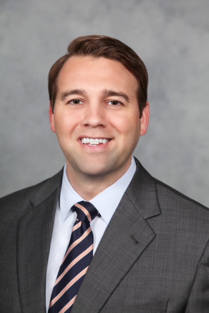 DR. E. SCOTT PAXTON is a member of the Division of Shoulder and Elbow Surgery and an assistant professor of orthopedic surgery at the Warren Alpert Medical School of Brown University. / COURTESY UNIVERSITY ORTHOPEDICS