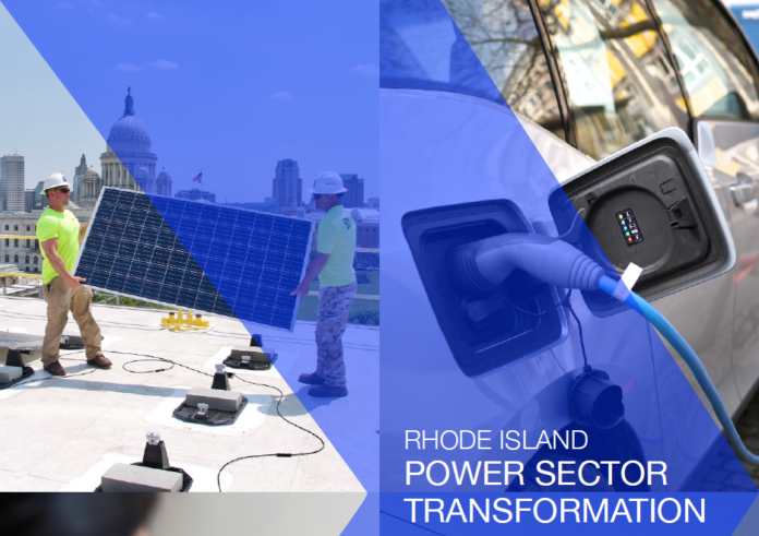 RHODE ISLAND's top energy officials released a report that if executed could radically change how Rhode Islanders consume and pay for electricity. / COURTESY OF STATE OF RHODE ISLAND