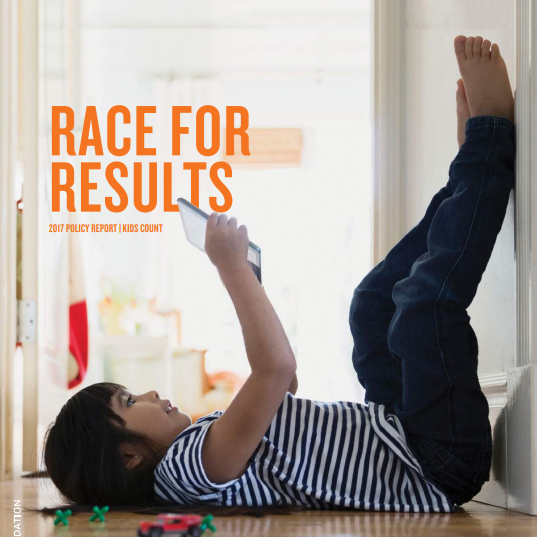 THE NATIONAL Race for Results report shows Rhode Island Latino and African-American students fare worst in the U.S. in educational success. / COURTESY RHODE ISLAND KIDS COUNT