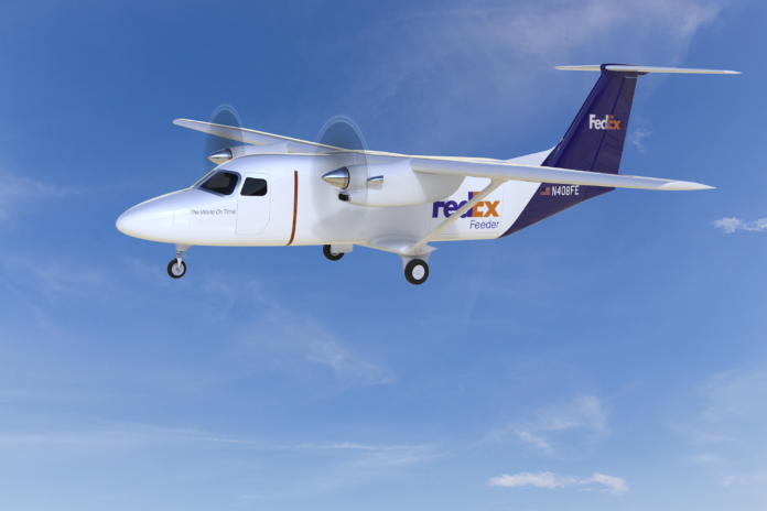 TEXTRON AVIATION announced the creation of the Cessna SkyCourrier 408, a twin-engine plane that will be sold in a cargo variant to FedEx Express. / COURTESY TEXTRON AVIATION