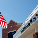 BOTH NEWPORT HOSPITAL and South County Hospital, pictured above, won the Guardian of Excellence and Pinnacle of Excellence awards, respectively, from Press Ganey. / BLOOMBERG FILE PHOTO/VICTORIA AROCHO