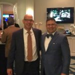 PETER SIEGEL, left, is the Tampa-area president for Stakweather & Shepley. He stands with David Soforenko, president and chief operating officer of the East Providence-based company. / COURTESY STARKWEATHER & SHEPLEY