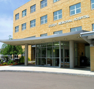 STURDY MEMORIAL Hospital has partnered with Hope Health to offer palliative care to patients. / COURTESY STURDY MEMORIAL HOSPITAL
