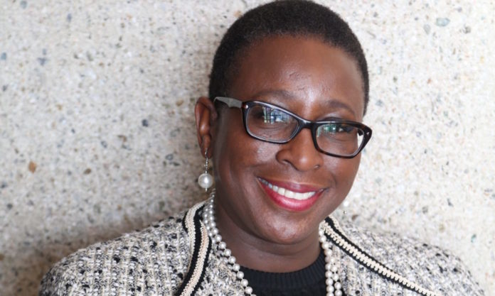 YVONNE SPICER, vice president of advocacy and educational partnerships, Boston Museum of Science, was a speaker at the annual Massachusetts STEM Summit. A committee member of the Massachusetts Business Roundtable, Spicer was appointed to the first Massachusetts STEM Advisory Council by former Gov. Deval Patrick, then reappointed in 2017. /COURTESY YVONNE SPICER