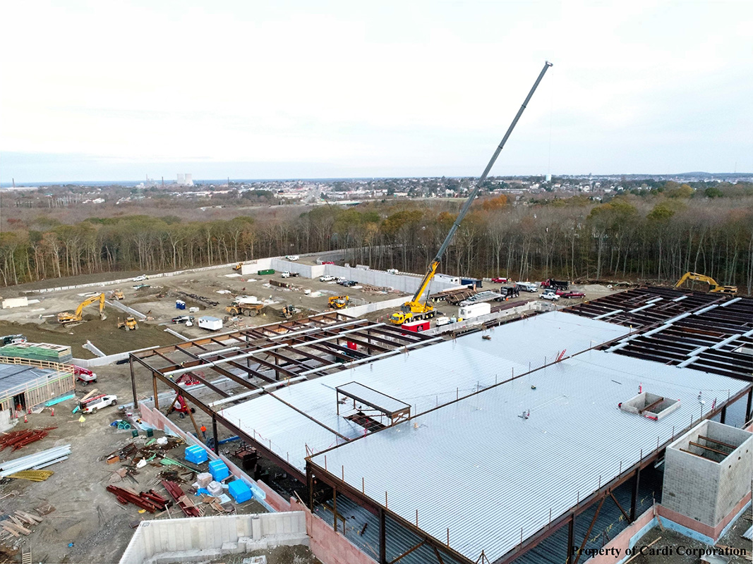 Twin River Tiverton Casino, which has been under construction this year, is now expected to cost $140 million./COURTESY TWIN RIVER MANAGEMENT GROUP