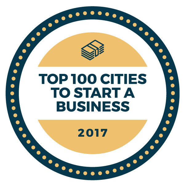 FALL RIVER AND TAUNTON ranked No. 26 and No. 27 respectively on How To Start an LLC's Top 100 Cities to Start a Business rankings. / COURTESY HOW TO START AN LLC