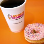 SPECULATION THAT JAB Holding Co. could acquire up Dunkin' Brands Group Inc. has driven up stock prices. / BLOOMBERG FILE PHOTO/PATRICK T. FALLON