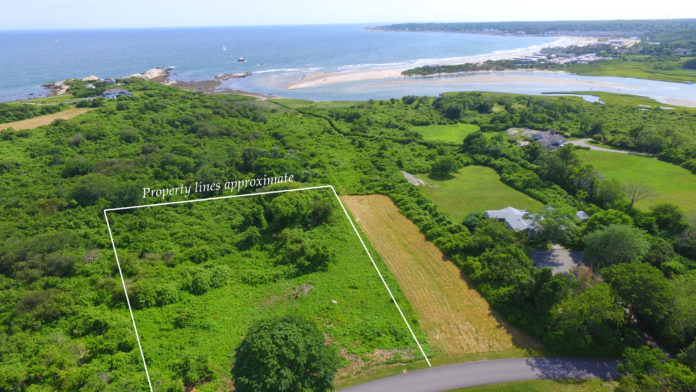 A 0.92-ACRE LOT IN Narragansett was sold for $1,050,000 this week. / COURTESY LILA DELMAN REAL ESTATE INTERNATIONAL