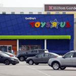 "TOYS ""R"" US is considering closing at least 100 U.S. stores. / BLOOMBERG FILE PHOTO/LUKE SHARRETT"