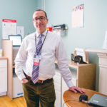 MANAGED CARE: Dr. Kevin Baill is unit chief of intensive inpatient adult treatment services in the ambulatory detox clinic at Butler Hospital, which recently added a center of excellence for opioid-addiction treatment. / PBN PHOTO/STEPHANIE EWENS