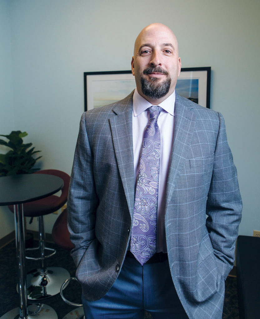 After nearly two decades in the mortgage industry, David Currie founded Province Mortgage Associates with a vision that included exceptional customer service at its core. / PBN PHOTO/RUPERT WHITELEY