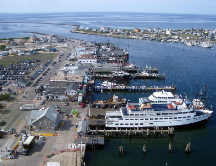 THE R.I. DEPARTMENT OF ENVIRONMENTAL Management received a $1.6 million grant to support construction at the Port of Galilee in Narragansett. / COURTESY TOWN OF NARRAGANSETT
