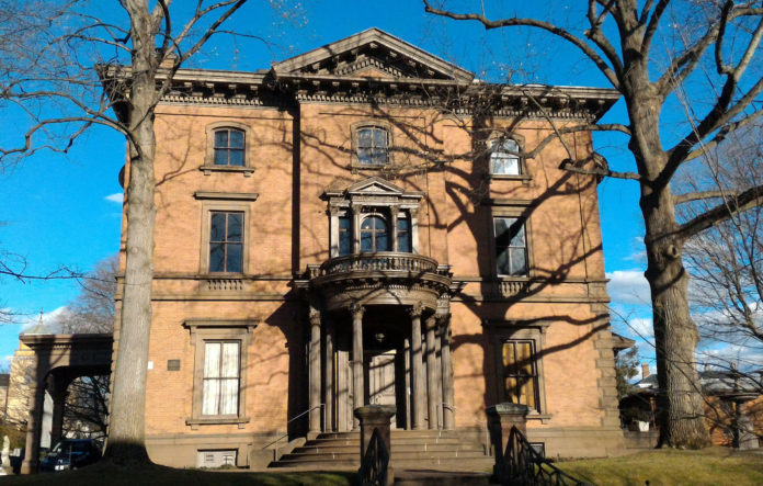 THE LIPPITT HOUSE MUSEUM is one of 185 nonprofit organizations to receive a total $18.1 million in grants from the Champlin Foundation in 2017. / COURTESY LIPPITT HOUSE MUSEUM