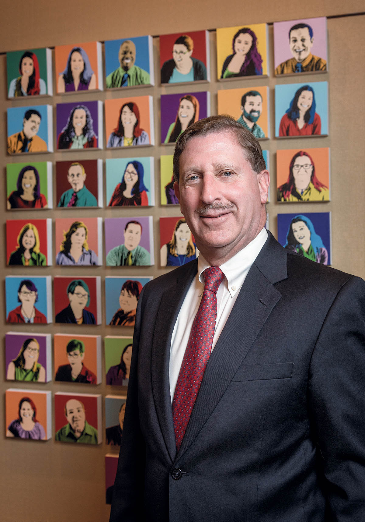 THE RHODE ISLAND FOUNDATION donated $100,000 to the Rhode Island Community Food Bank. Above, Neil D. Steinberg, president and CEO of the Rhode Island Foundation. / PBN FILE PHOTO/MICHAEL SALERNO