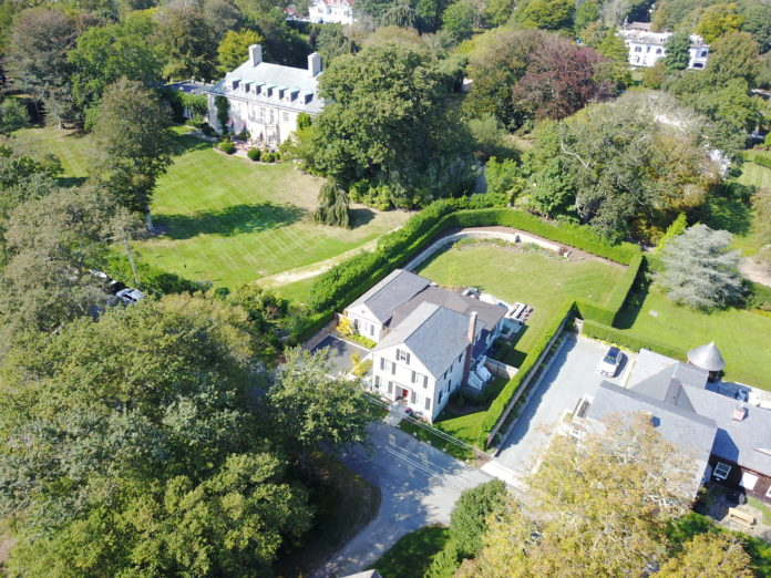 The former gardener's cottage for the Bois Dore chateau in Newport sold on Dec. 1 for $1.99 million./COURTESY HOGAN ASSOCIATES