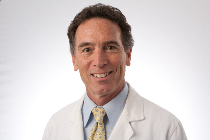 DR. JAMES O. MAHER III has been elected president of the medical staff at Newport Hospital. / COURTESY UNIVERSITY ORTHOPEDICS