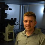 DANIEL ROXBURY, assistant professor of chemical engineering at the University of Rhode Island, is part of a team using nanotechnology to better understand obesity-induced diseases. / COURTESY DANIEL ROXBURY