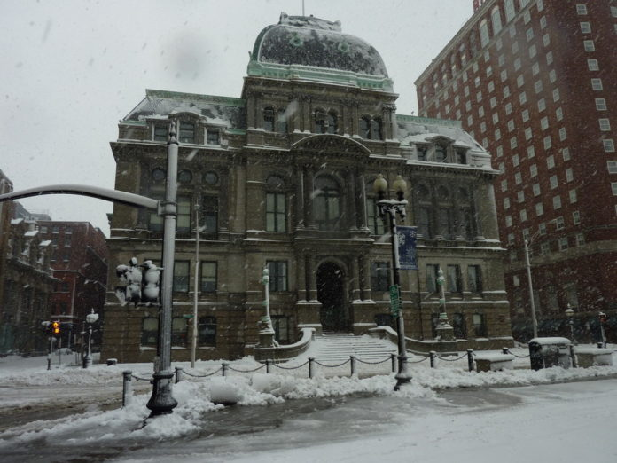 PROVIDENCE HAS ISSUED a citywide parking ban on Sunday from 2 to 6 a.m. in preparation for the incoming snowstorm this weekend. / PBN FILE PHOTO