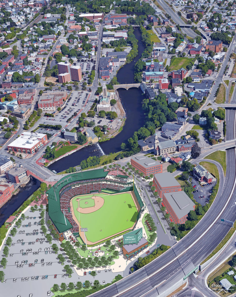 TIME TO VOTE: The Senate Finance Committee on Jan. 9 will hold a much-anticipated hearing on financing for a new Pawtucket Red Sox stadium. / COURTESY PAWTUCKET RED SOX