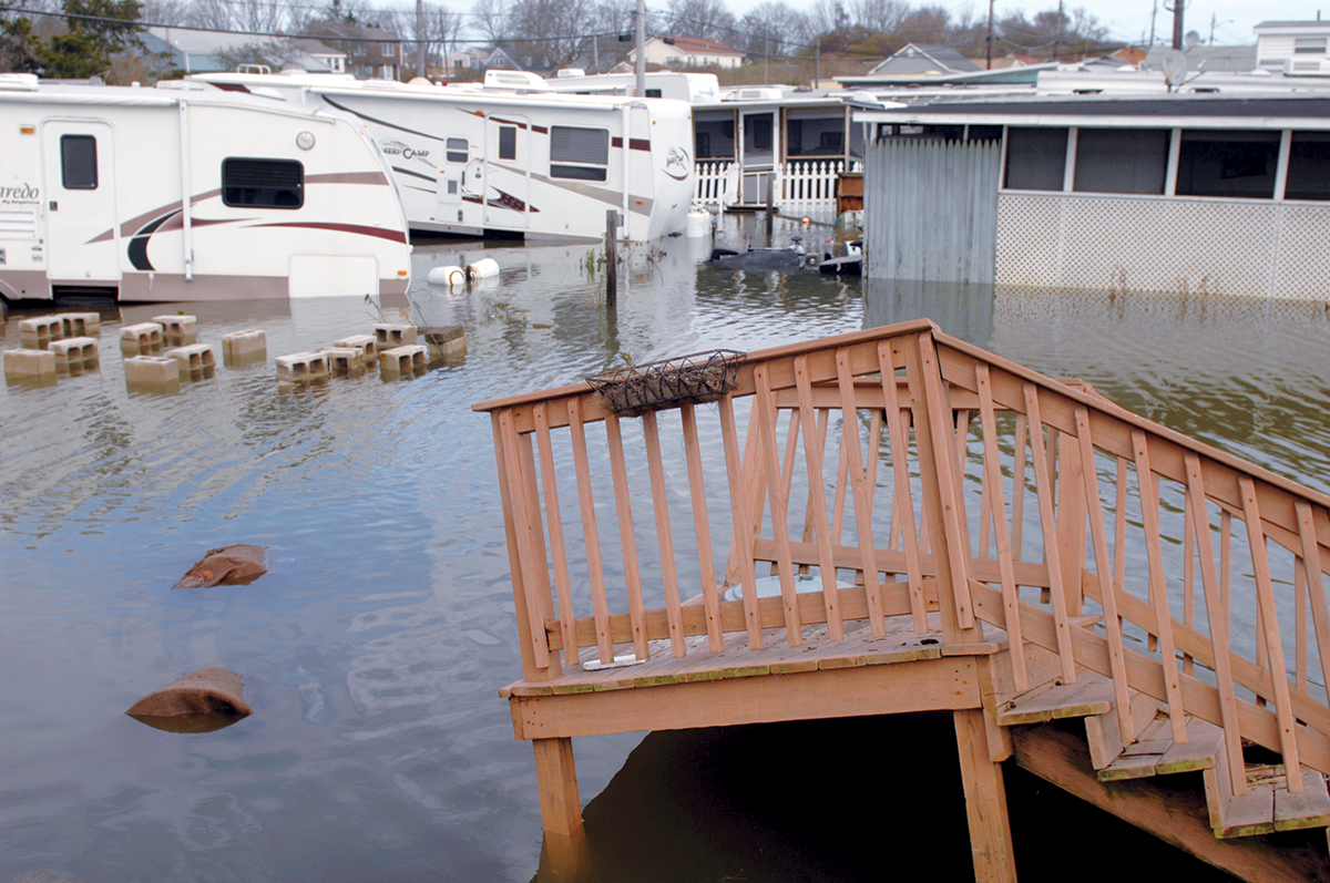VISION OF THE FUTURE? Climate experts believe that between sea-level rise and the increasing frequency of powerful storms, larger portions of Rhode Island will face serious flooding in the coming years.  / PBN FILE PHOTO/BRIAN MCDONALD