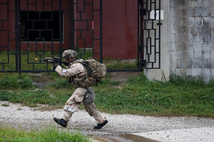 ENLISTED MILITARY PERSONNEL was ranked the most stressful job in the U.S. for 2018. BLOOMBERG FILE PHOTO/SEONGJOON CHO