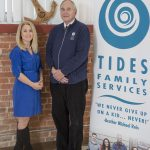TIDES FAMILY SERVICES announced Wednesday its CEO Brother Michael Reis (R) will step down to serve as Chief Visionary Officer while long-time employee Beth Bixby (L) will take over for him as head of the Christian social services organization. / COURTESY TIDES FAMILY SERVICES