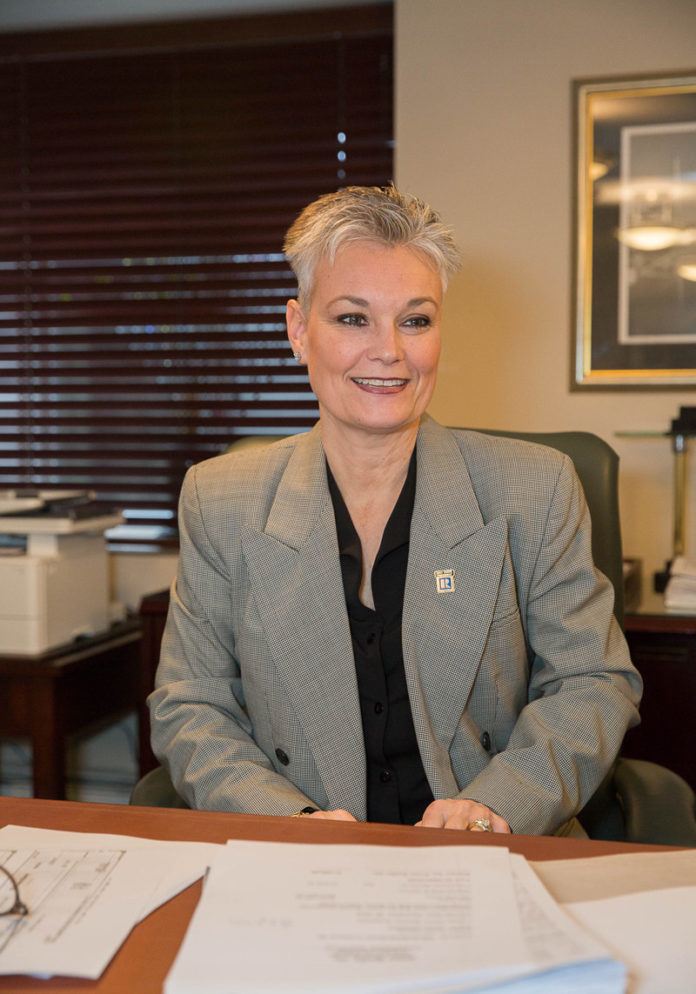 BRENDA MARCHWICKI is the immediate past president of the Rhode Island Association of Realtors and now serves as the leader of its global business committee. / PBN FILE PHOTO/TRACY JENKINS