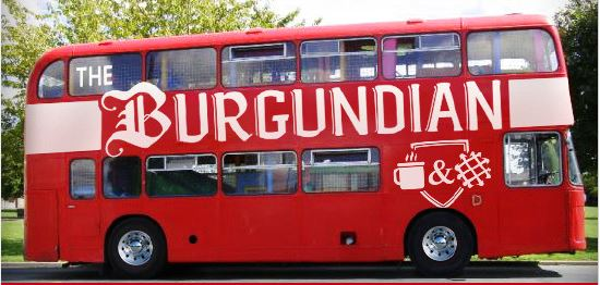 The Burgundian, a Warren-based specialty waffle company, will launch a Kickstarter campaign on Friday, Jan. 19 to fund the renovation of a double decker bus into a mobile cafe and kitchen./ PHOTO COURTESY THE BURGUNDIAN