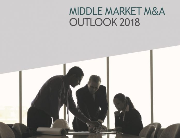 CITIZENS COMMERCIAL BANKING'S Middle Market M&A Outlook 2018 report concluded that the mergers and acquisition market remains strong entering 2018. / COURTESY CITIZENS