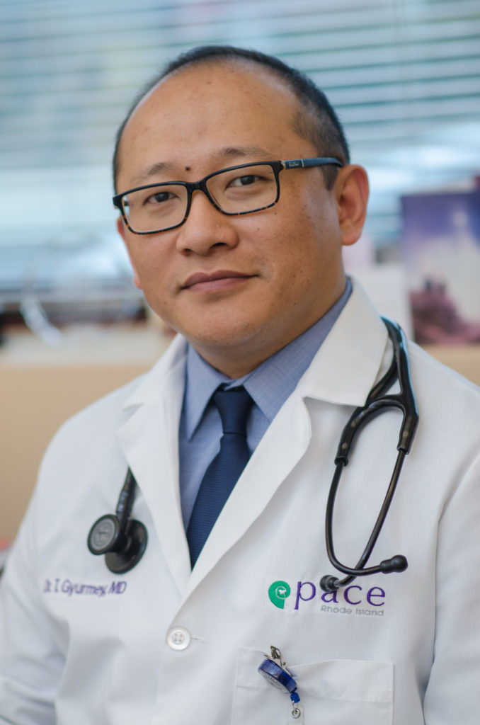 PACE Chief Medical Officer Dr. Tsewang Gyurmey. / COURTESY PACE