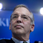 WILLIAM DUDLEY, president and chief executive officer of the Federal Reserve Bank of New York, says the risk of an overheating U.S. economy in the next few years, partly fueled by tax cuts, reinforces the case for continued gradual interest-rate increases. / BLOOMBERG FILE PHOTO/ANDREW HARRER