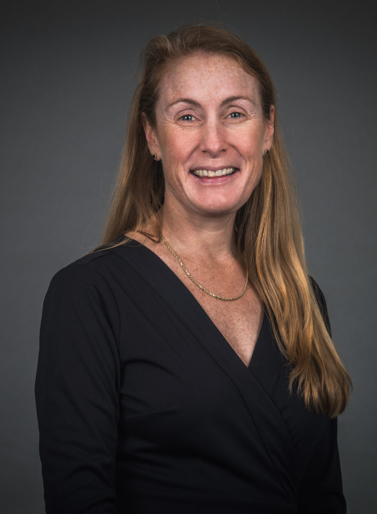 ELIZABETH JACKSON has been named the new chief marketing officer and senior vice president for strategy at KVH Industries Inc. of Middletown, which makes and sells in-motion satellite TV and communications systems. / COURTESY KVH INDUSTRIES INC.