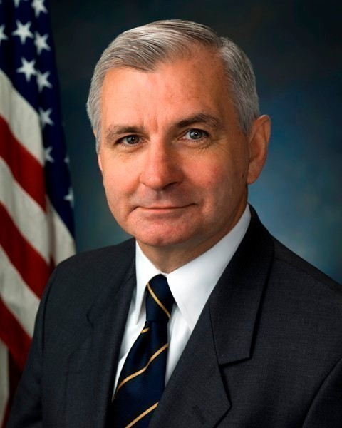 SEN. JACK F. REED announced the the Navy is scheduled to meet with Middletown officials to finalize a $1.3 million sale of 3.25 acres to the town that it plans to redevelop. / COURTESY OFFICE OF U.S. SEN. JACK F. REED