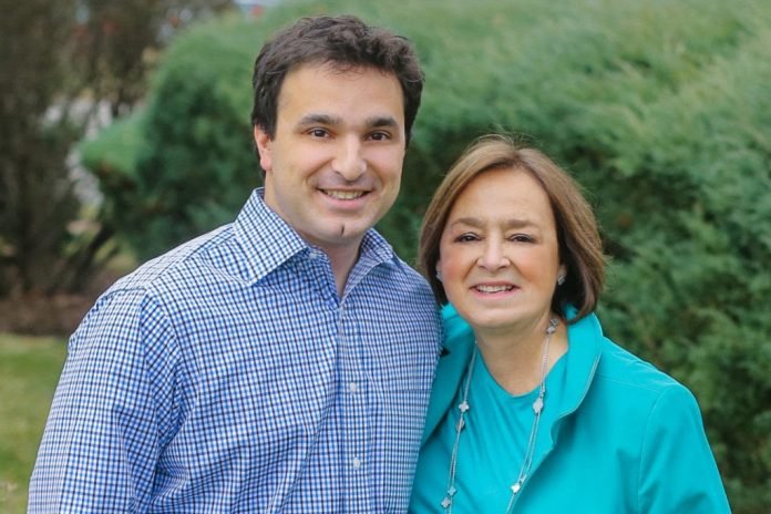 LINDA AND LEVI MAAIA, formerly lead executives at digital network Full Channel, have started their own telecommunications consultancy firm, Maaia Communications. / COURTESY MAAIA COMMUNICATIONS