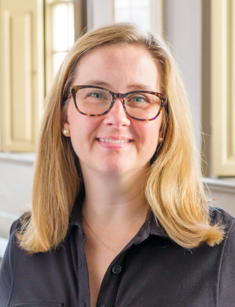 RACHEL ROBINSON has been hired as the new director of preservation at the Providence Preservation Society. She replaces Marena Wisniewski, who left the organization earlier in 2017 to pursue another opportunity. / COURTESY WARREN JAGGER