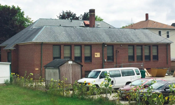 RIVERZEDGE ARTS HAS purchased the former Second Avenue School in Woonsocket, where the organization has been based since 2014, and plans a renovation and structural upgrade in the spring. / COURTESY RIVERZEDGE ARTS