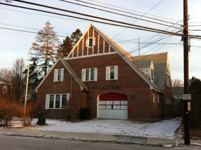 THE ROCHAMBEAU FIRE STATION, at 270 Rochambeau Ave. in Providence, was one of two East Side fire houses deactivated earlier this year by Mayor Jorge O. Elorza's administration. The city Planning Department is actively seeking opinions as to the building's next purpose. / PBN PHOTO/MARY MACDONALD