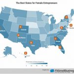 RHODE ISLAND ranked No. 34 for women entrepreneurs and No. 2 in New England. / COURTESY FITSMALLBUSINESS.COM
