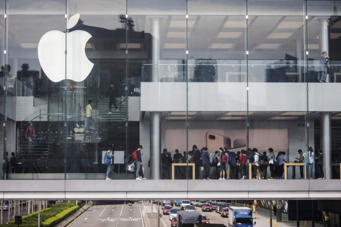 APPLE INC. Announced that it will repatriate $38 billion. The company also announced plans for another U.S. campus that would primarily focus on technical support for Apple product users. / BLOOMBERG FILE PHOTO/ JUSTIN CHIN