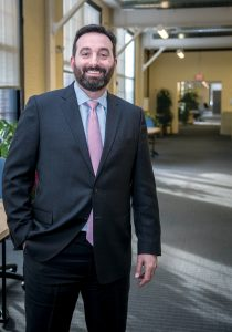 TAKING OVER: Jesse Saglio, former managing director of R.I. Commerce Corp., has replaced Darin Early as Commerce president and chief operating officer. Early stepped down to an advisory role in early January. / PBN PHOTO/MICHAEL SALERNO
