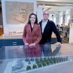 WINNING DESIGNS: Kyna Leski and Chris Bardt, owners of modern-architecture firm 3SIXO LLC in Providence, received a 2017 American Institute of Architects award for a modern home in Montauk, N.Y., and both were recently inducted into DESIGNxRI's Rhode Island Design Hall of Fame. / PBN PHOTO/MICHAEL SALERNO