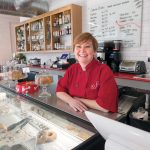 EXPANDING BUSINESS: Jennifer Luxmoore, owner of Sin LLC bakery in Providence, last year opened a restaurant to go alongside the bakery, which was launched in 2007. / PBN PHOTO/MICHAEL SALERNO