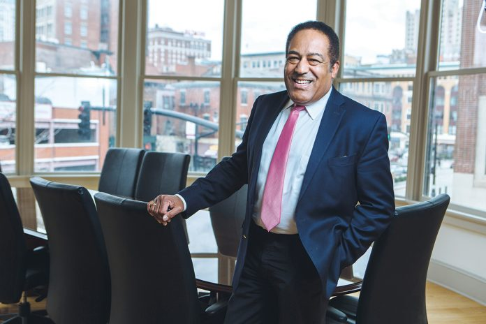 SKILLS ENHANCER: Lawrence E. Wilson, a former senior administrator at Rhode Island College, launched The Wilson Organization LLC last fall to help employees at large and small companies develop or enhance their soft skills. / PBN PHOTO/RUPERT WHITELEY