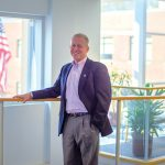 With more than a quarter-century at Woodard & Curran – the last 11 years as CEO and the last nine years as chairman of the board – Douglas McKeown is passionate about its culture and about maintaining its success. / COURTESY WOODARD & CURRAN