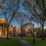 ON TUESDAY, Brown University announced an updated institutional master plan which recommends a new site for the proposed performing arts center and preserves four historic structures. / COURTESY BROWN UNIVERSITY