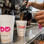 DUNKIN' DONUTS WILL eliminate the use of foam cups in its stores by 2020. / BLOOMBERG FILE PHOTO/RON ANTONELLI